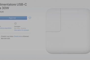 Apple has replaced the power supply USB C-29W with a 30W