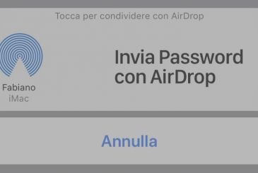 With iOS 12, you can use AirDrop to share your username and password