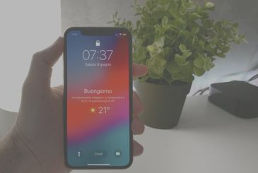 How to view the screen good morning with the Weather on iOS 12