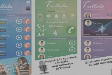 Trillalà, the new social network of audio messages... random