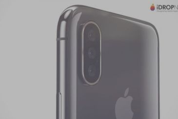 A new diagram shows the iPhone X Plus with triple camera