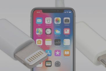 The new iPhone will have a Lightning cable/USB-C and a transformer 18 W in the package
