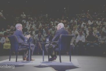 Tim Cook talks about Apple Watch, Steve Jobs and policy at The David Rubenstein Show