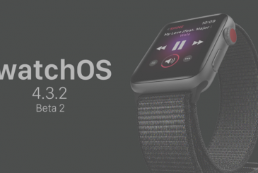 Apple releases the second beta of watchOS 4.3.2 for developers