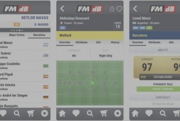 FMdB, the largest database for football in the world comes to the iPhone