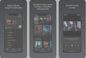 YouTube Music is available also in Italy
