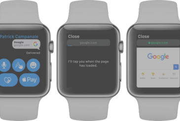 WatchOS 5, how to browse the internet from the Apple Watch