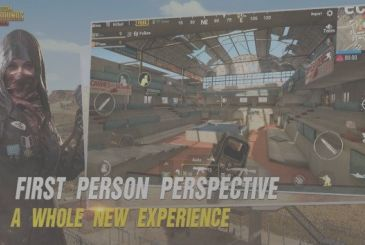 PUGB Mobile you update with the first person view and the Royale Pass
