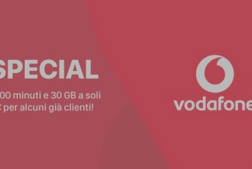 Vodafone Special Minutes to 30 GB for just 8€ (for existing customers!