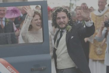 The Throne of Swords, Jon Snow and Ygritte bride and groom: the wedding photos