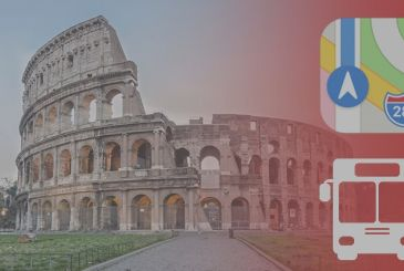 Apple Maps: the available information about public transport to the city of Rome