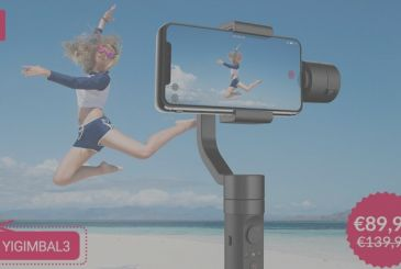 Arrives in Italy the Gimbal of Yi, an excellent stabilizer to make great video with your smartphone [Coupon]