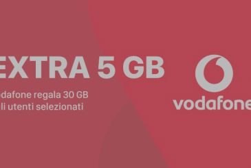 Vodafone offers 30 GB for six months to their customers