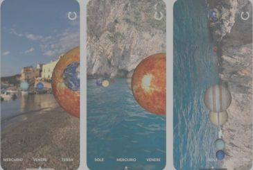 The planetarium: the Solar System on your iPhone in augmented reality