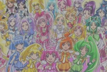Pretty Cure: movie clip of the new movie