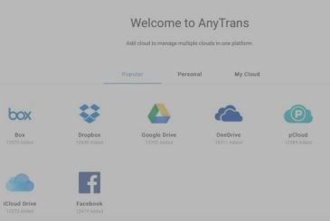 AnyTrans for Cloud, a service to manage the space cloud