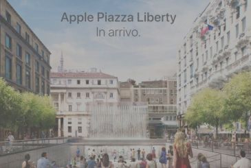 Official: Apple is in Piazza Liberty in Milan opens on the 26th of July