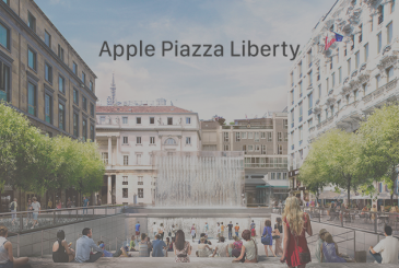 The Apple Store in Piazza Liberty in Milan will be inaugurated on the 26th of July