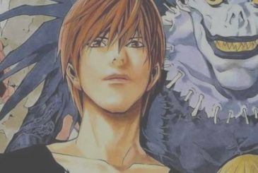 Death Note: Takeshi Obata drawing of Light and Ryuk
