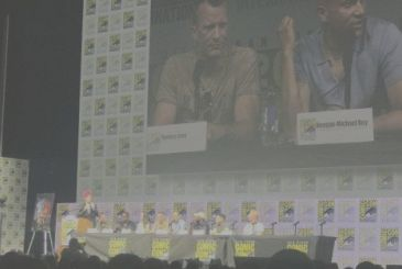 The Predator: the presentation of the film with cast and director