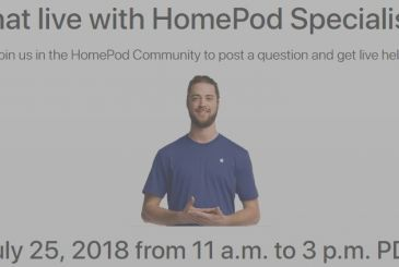 A live event dedicated to the HomePod: direct access to Apple experts will answer questions of users