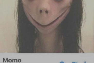 What is the monster Momo that circulates on Whatsapp