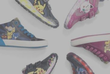 Pokémon: Geox launches shoe collection