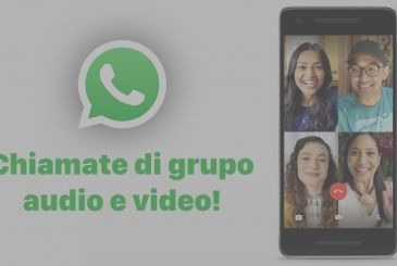On WhatsApp calls to group audio and video!