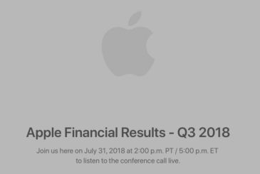 Apple publishes the results fiscal Q3 2018! 41.3 million iphones sold and revenue of 53.3 billion dollars