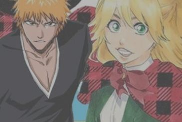 Bleach and Burn the Witch together in a series of illustrations