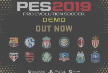 PES 2019: now available for demo