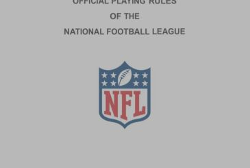 The rules of the game the NFL 2018