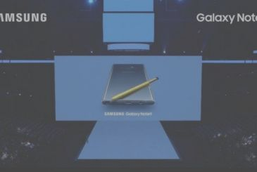 Samsung presents the new Galaxy Note 9
