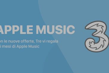 Three with the new promotions, offers six-month subscription to Apple's Music