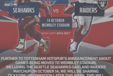 Breaking News: Raiders vs Seahawks will be played at Wembley