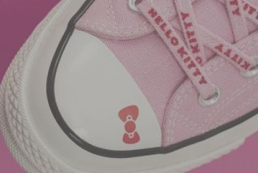 Hello Kitty: Converse launches collection of sneakers and clothing