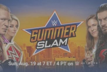 WWE SummerSlam: the match of the Pay-Per-View