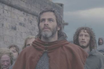 Outlaw King-trailer for the movie on Netflix with Chris Pine