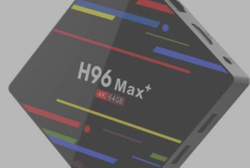 The TV Box Android H96 Max+ is available for less than 50€