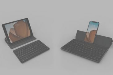 Zagg has the keyboard flex, for iPhone and iPad