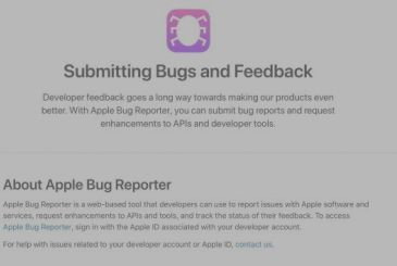 Apple announces changes to the tool Bug Reporter: more protection of privacy