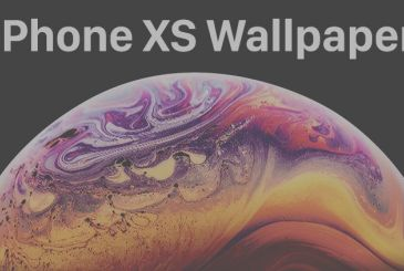 Download wallpaper official of the new iPhone XS!