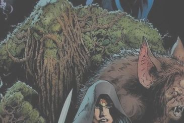DC: the new series for Swamp Thing, Hawk & Where, and The Spectrum