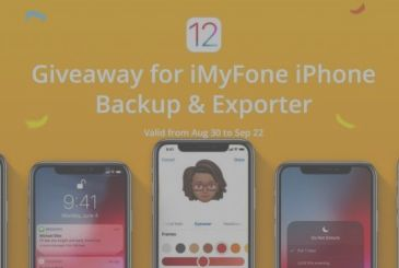 IMyFone: here's a giveaway to celebrate the arrival of iOS 12