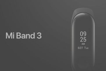 Xiaomi Mi Band 3 is officially available in Italy only 29,99€