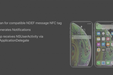The iPhone Xs iPhone and Xr may read the NFC tags, without having to launch third-party apps
