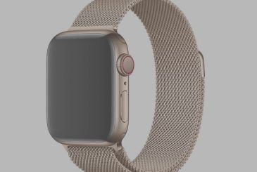 Apple Watch set 4: all the straps are compatible!