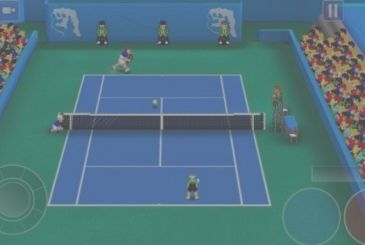 Tennis Champs Returns: online the third season