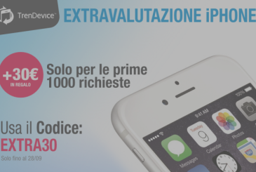 Is back the extravalutazione on TrenDevice: only for iPhone and only the first 1,000 requests