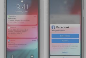 Here are the notifications of the iOS 12, more order in your notification center